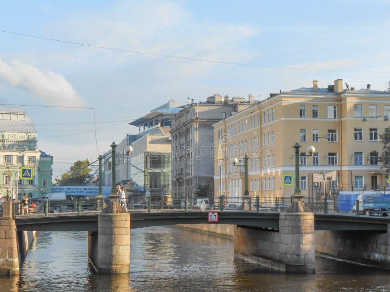 Санкт-Петербург в России стоковое фото rf