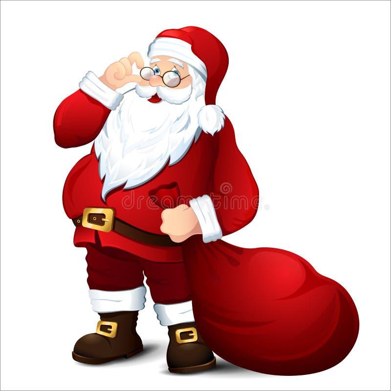 Санта Клаус бесплатная иллюстрация