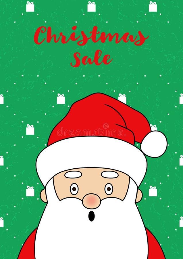 Санта Клаус Card-23 бесплатная иллюстрация