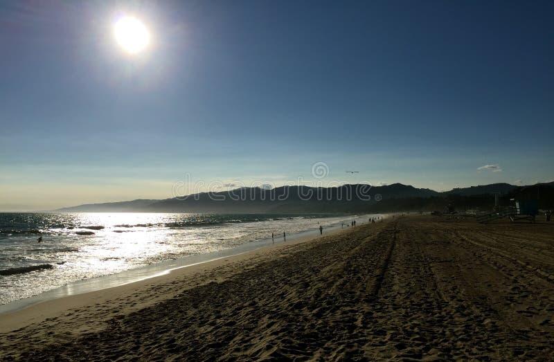 Санта-Моника, CA стоковые изображения rf