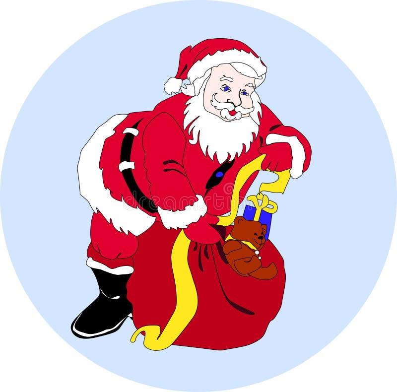 Санта стоковая фотография rf