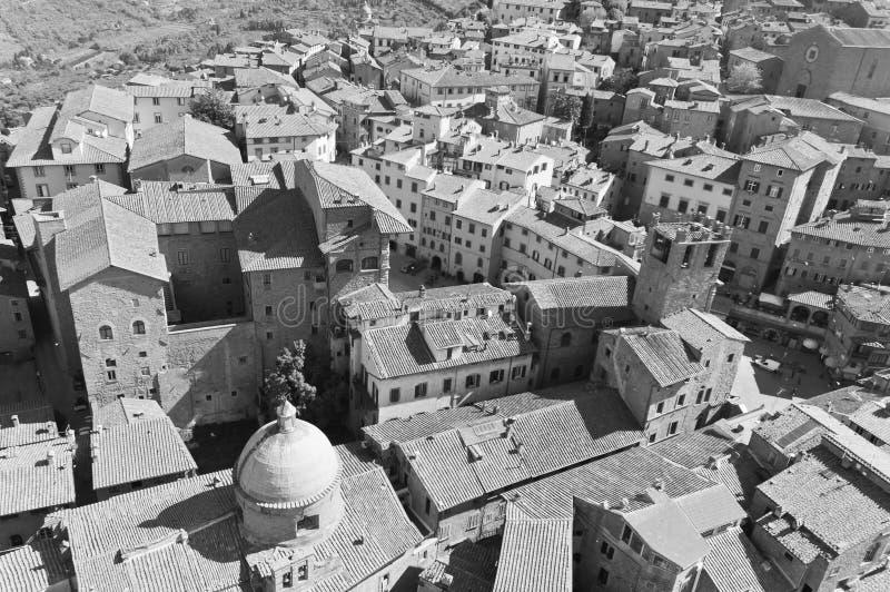 Санта Margherita в Cortona, Тоскане - Италии стоковые изображения rf
