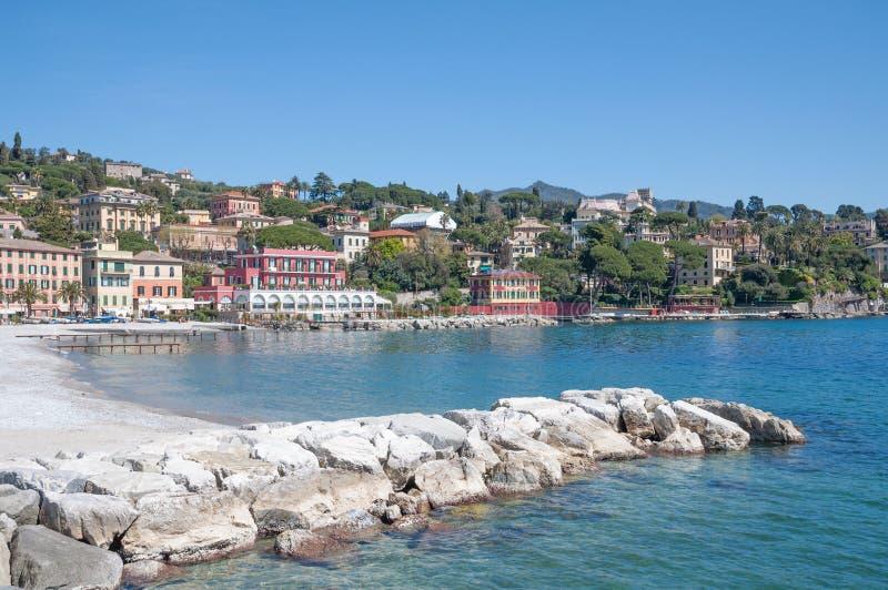 Санта Margherita Ligure, Лигурия, Италия стоковая фотография