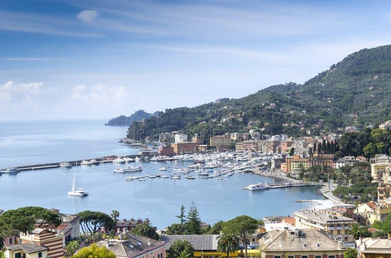 Санта Margherita Ligure стоковое изображение