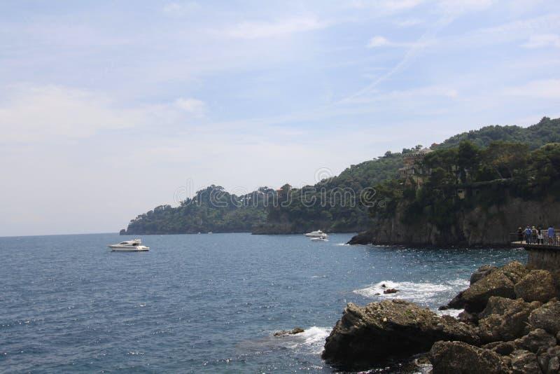 Санта Margherita Ligure Portofino Лигурия Италия стоковые изображения rf