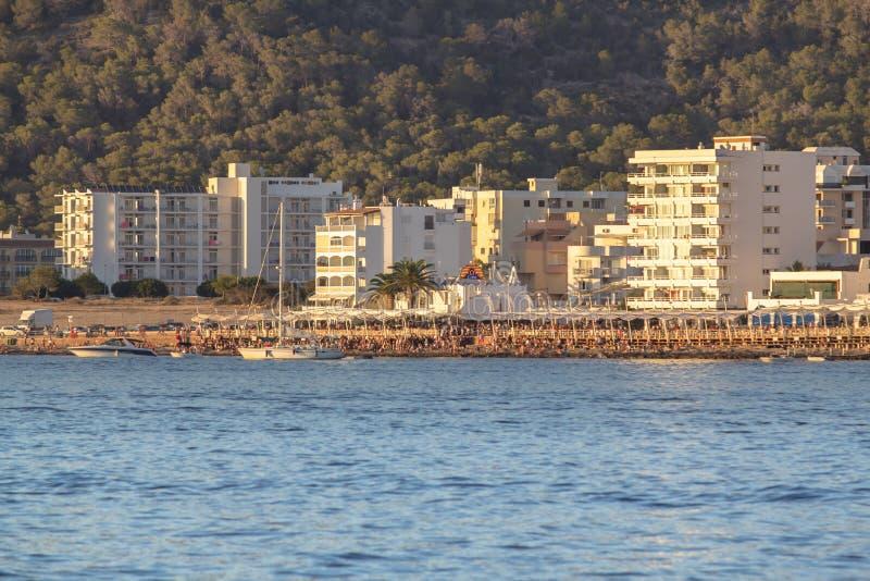 Сан Антонио, Ibiza, Испания стоковое изображение