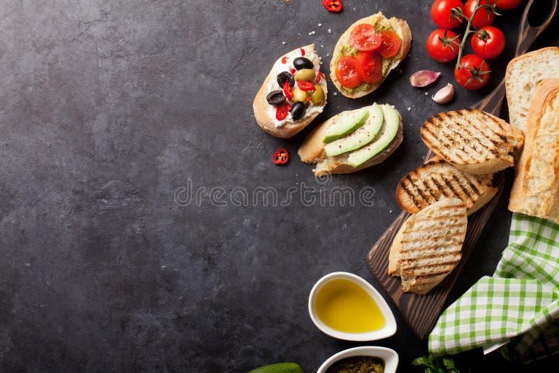 Сандвичи здравицы стоковая фотография