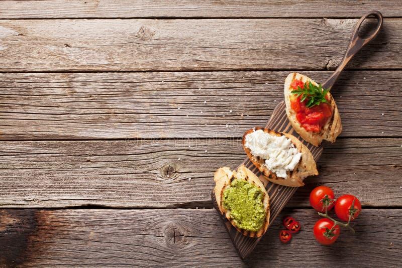 Сандвичи здравицы стоковые изображения