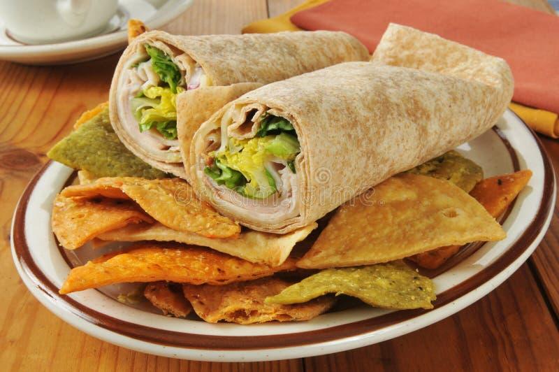 Сандвичи обруча Турции стоковое изображение