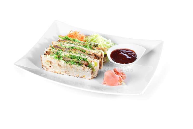 Сандвичи с мясом стоковые фотографии rf