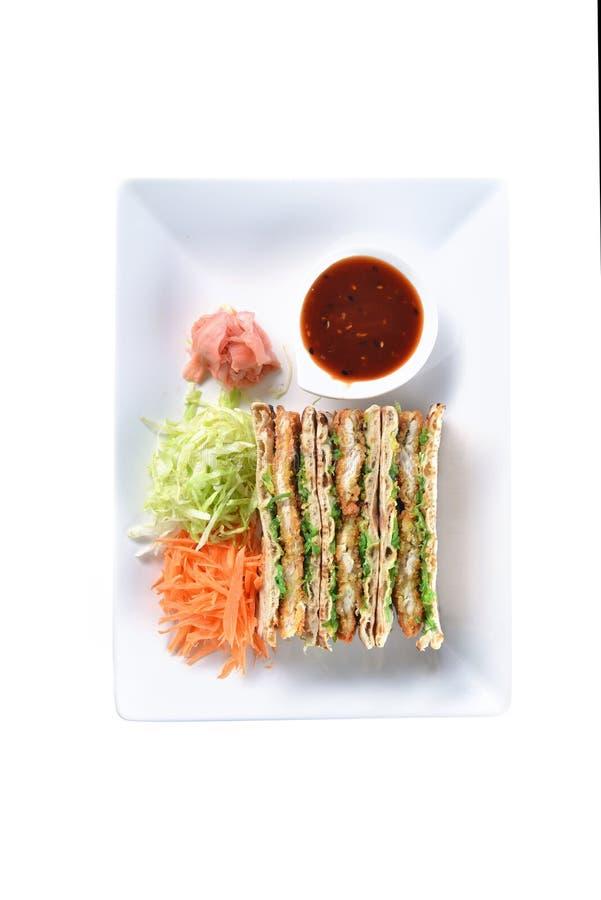 Сандвичи с мясом стоковая фотография