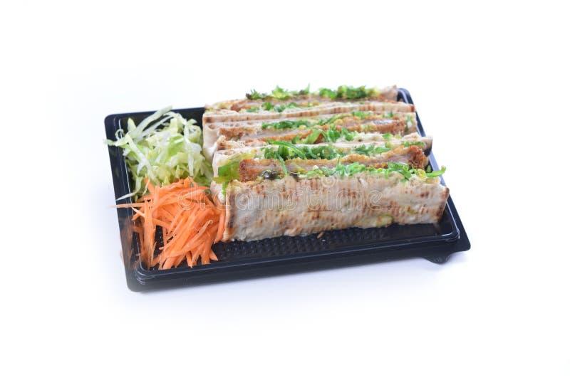 Сандвичи с мясом стоковое изображение rf