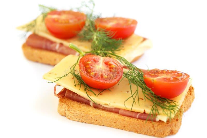 Сандвичи Стоковое Фото