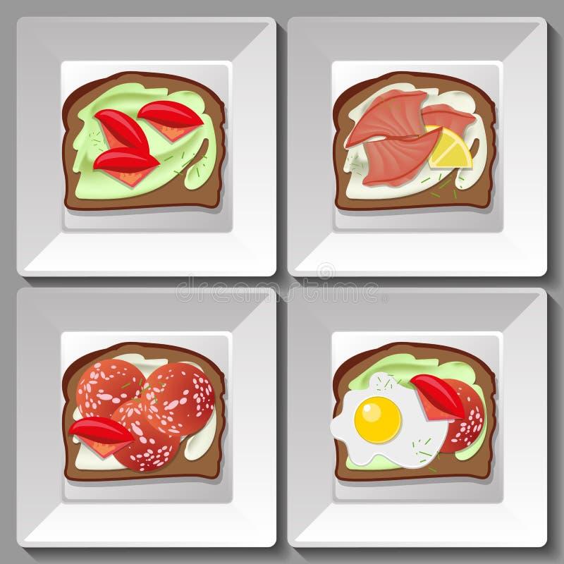 сандвичи бесплатная иллюстрация
