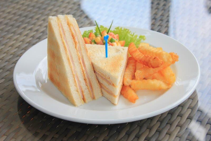 Сандвич ветчины & сыра стоковые изображения