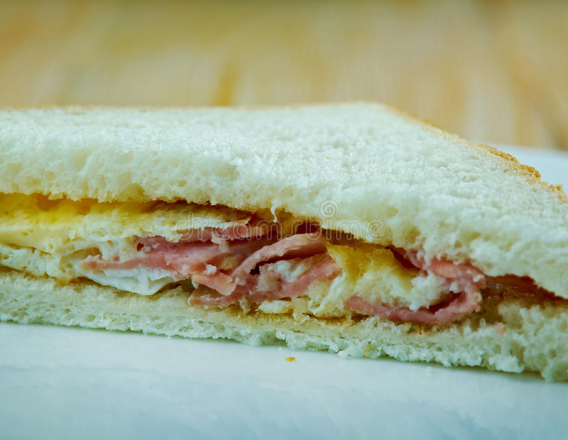 Сандвич Денвера стоковое изображение