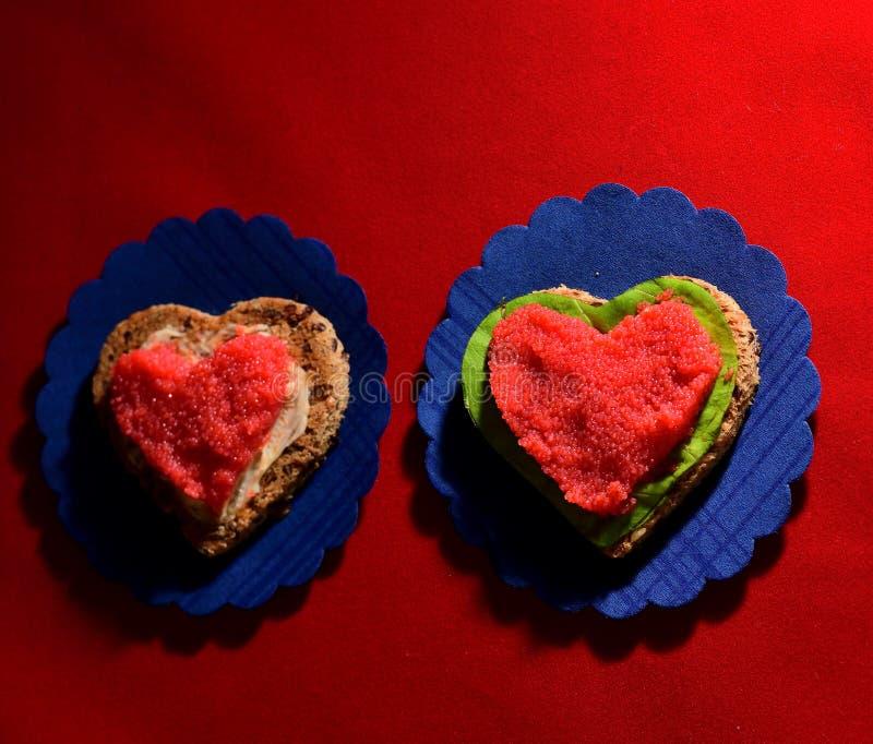 Сандвич с косулями мойвы стоковое изображение rf
