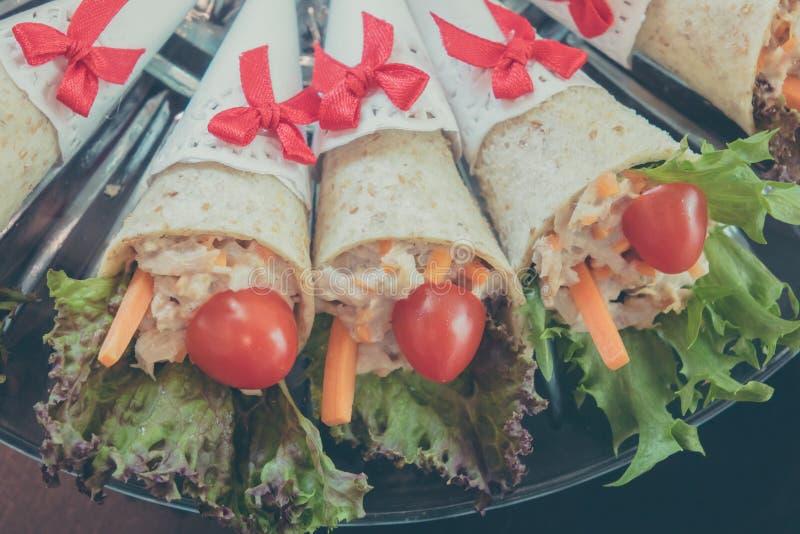 Сандвич тунца стоковая фотография rf