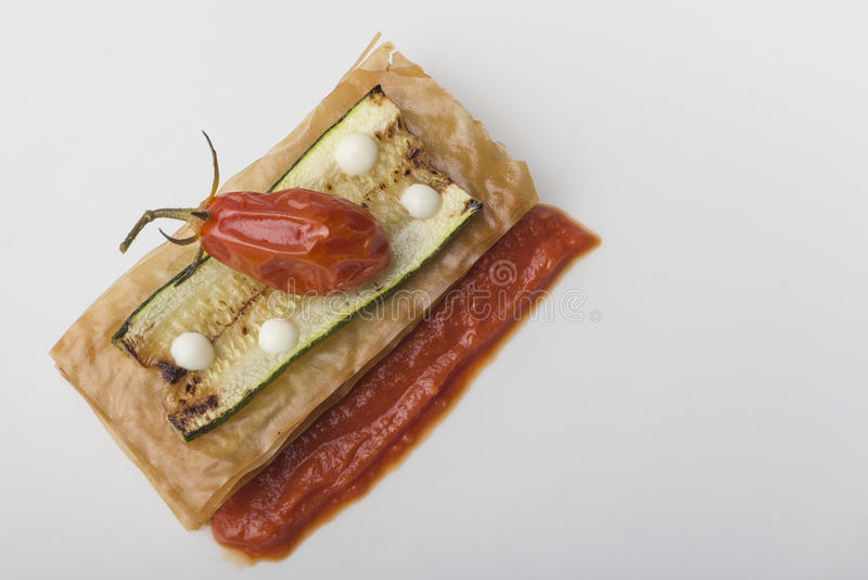 Сандвич цукини стоковые фотографии rf