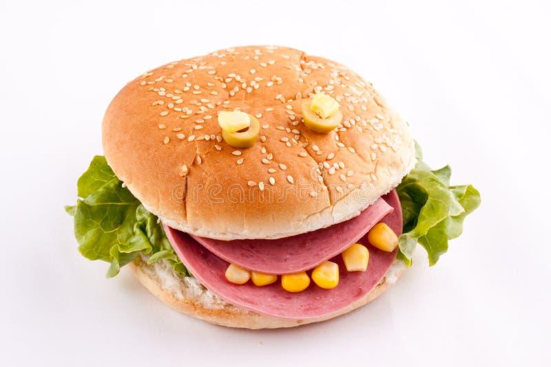 Сандвич для детей стоковая фотография rf