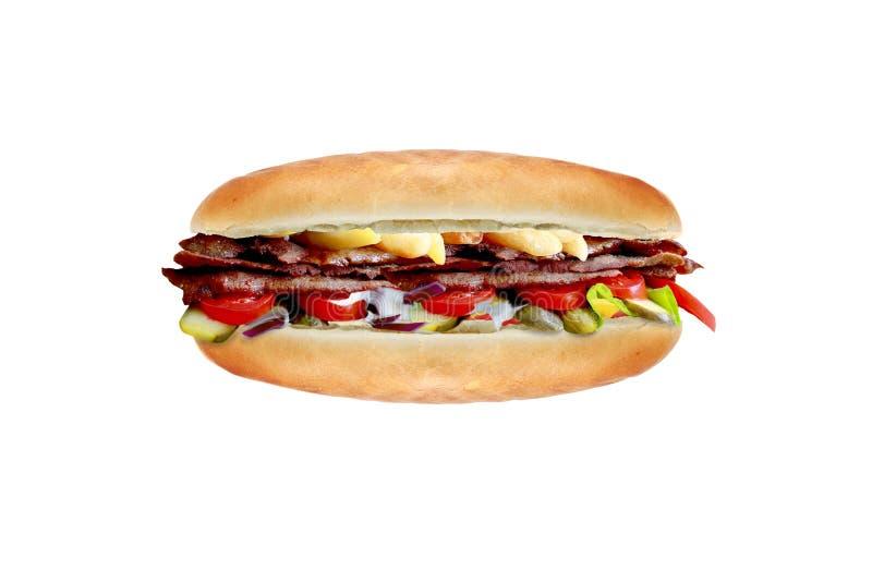 Сандвич Kebab стоковые изображения