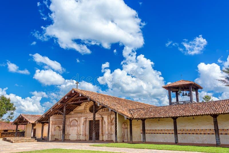 Сан Ксавьер, церковь Боливии стоковые изображения