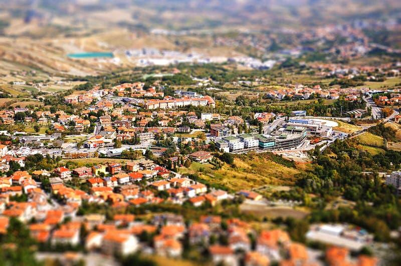 Сан-Марино стоковое изображение rf