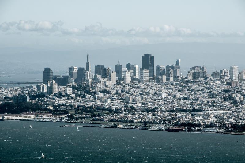 Сан-Франциско над вахтой стоковая фотография