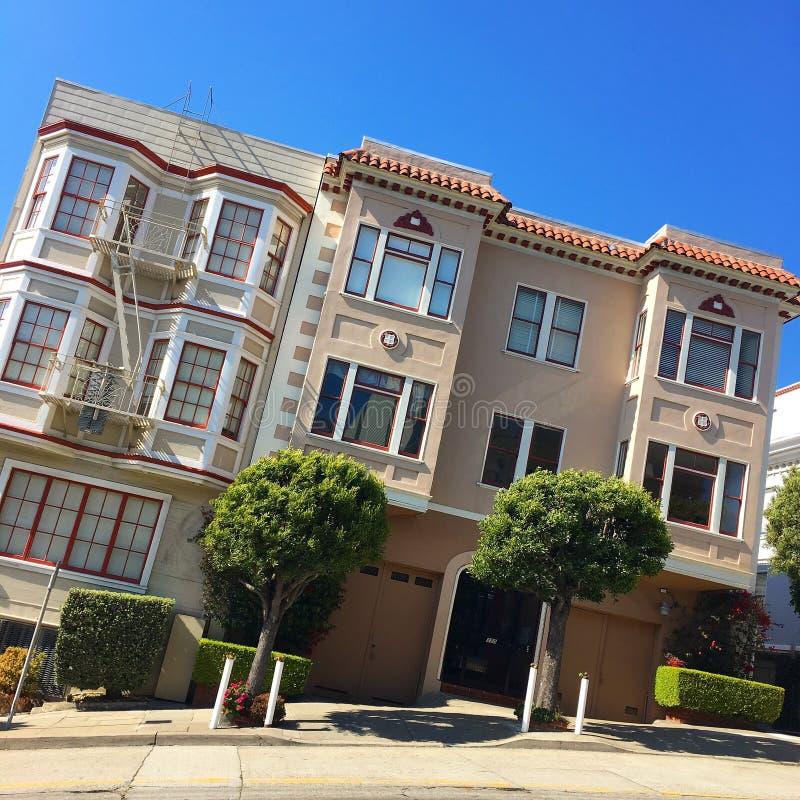 Сан-Франциско, немножко криво стоковые изображения