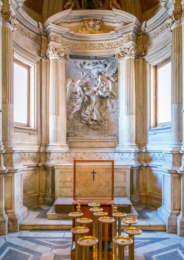 Сан Pietro в церков Montorio, Риме стоковые изображения