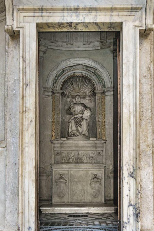 Сан Pietro в Montorio, Риме, Италии стоковые изображения rf