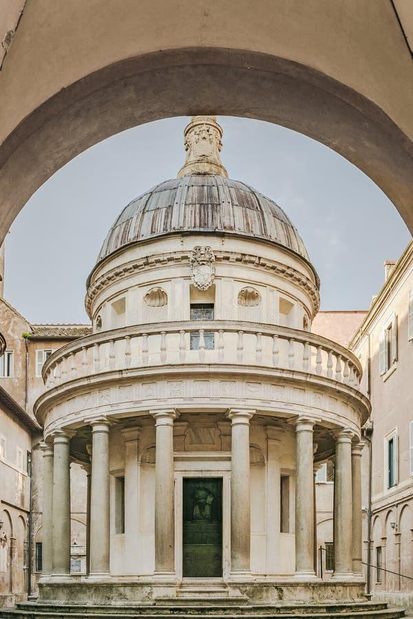 Сан Pietro в Montorio, Риме, Италии стоковое изображение