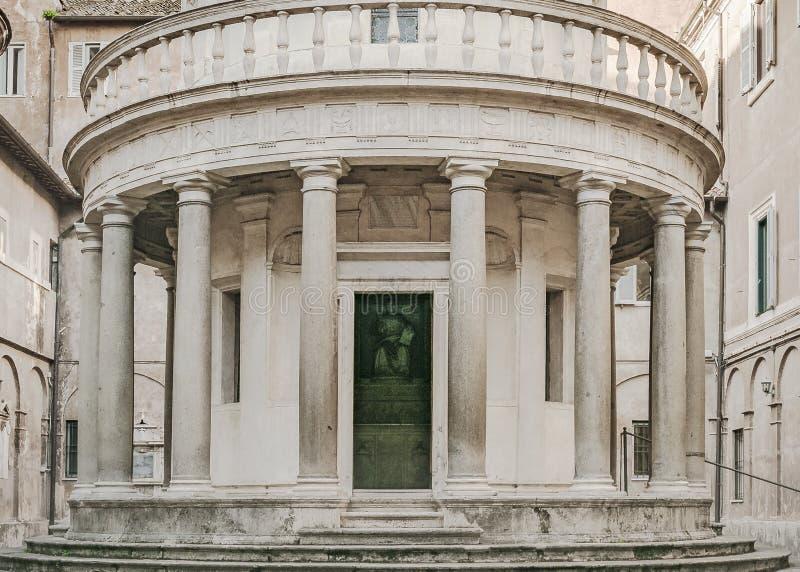 Сан Pietro в Montorio, Риме, Италии стоковые изображения