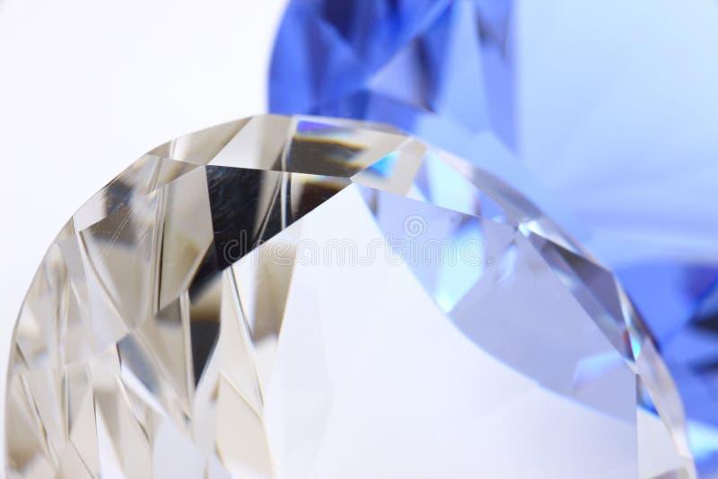 сапфир диаманта стоковая фотография rf