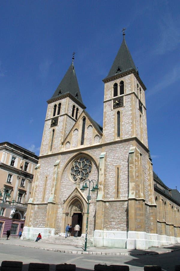 сараево собора стоковые фото