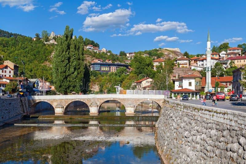 Сараево стоковая фотография