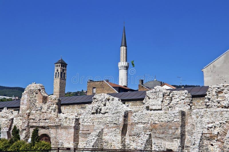 Сараев стоковое фото rf