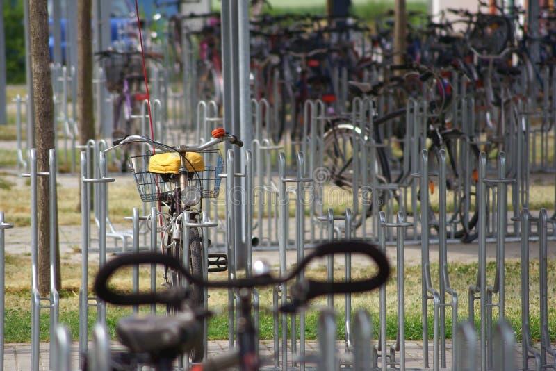 Сарай велосипеда стоковые фото
