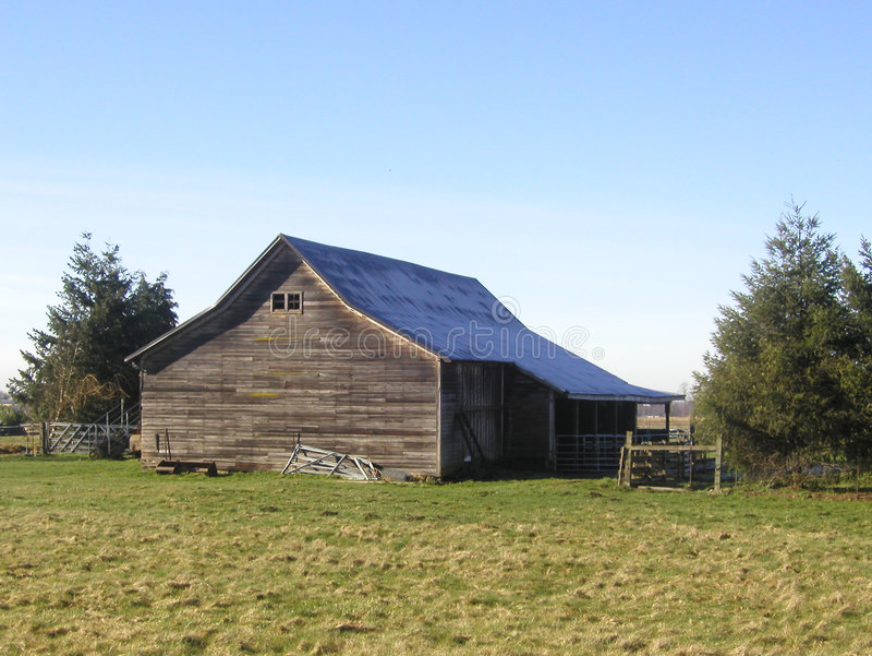 сарай фермы стоковые фотографии rf