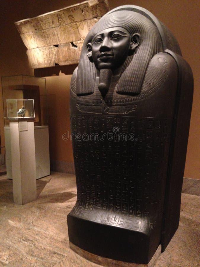 Саркофаг Horkhebit на столичном музее изобразительных искусств стоковая фотография rf