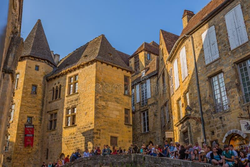Сарлат-ла-Канеда, Франция стоковые фотографии rf