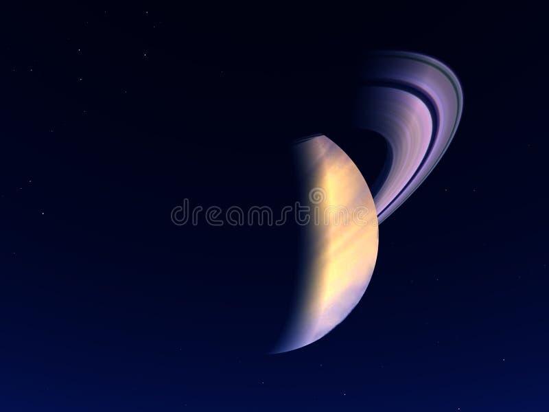 Сатурн 2 стоковое изображение rf