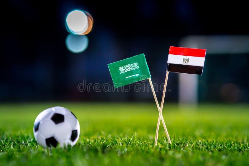 Саудовская Аравия - Египет, группа a, Monday, 25 Футбол -го июнь, мир стоковое фото rf