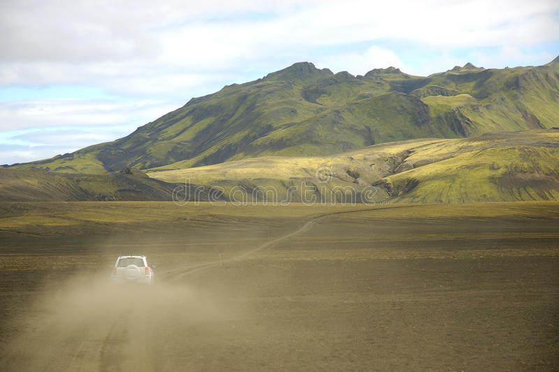 сафари Исландии стоковые фото