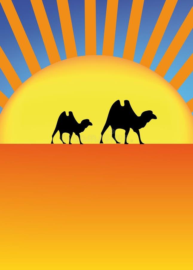 Сахара иллюстрация вектора