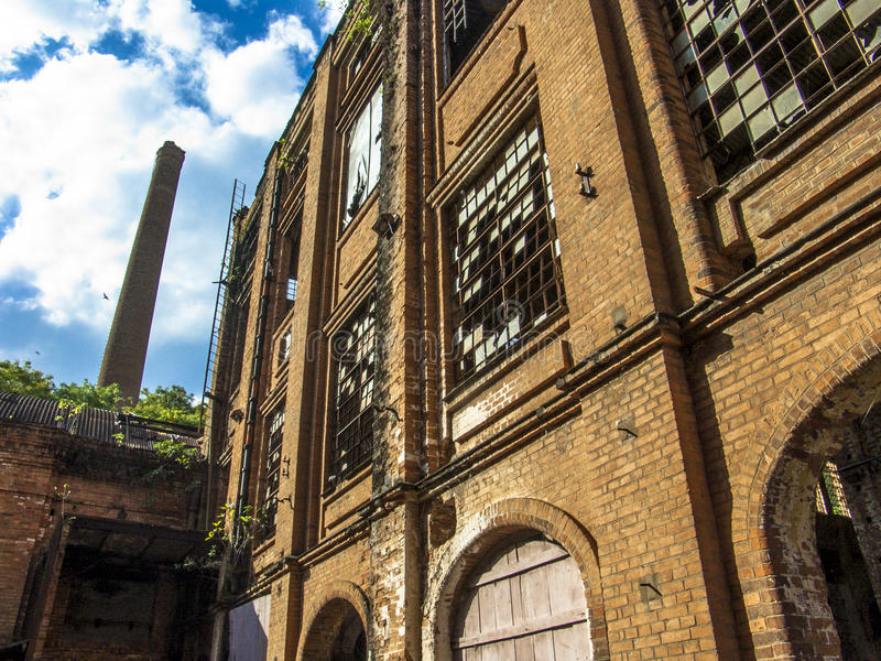 Сахарный завод централи Piracicaba стоковые изображения rf