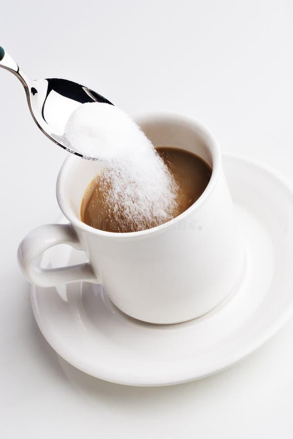 сахар кофе ваш стоковая фотография rf