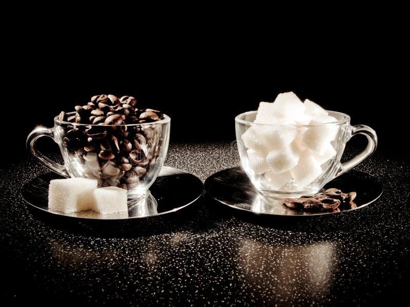 сахар кофе стоковые фотографии rf