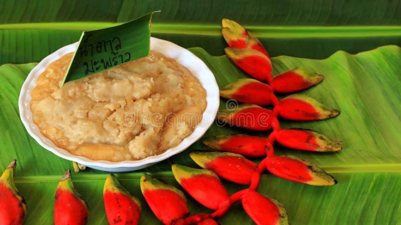 Сахар ладони кокоса стоковая фотография