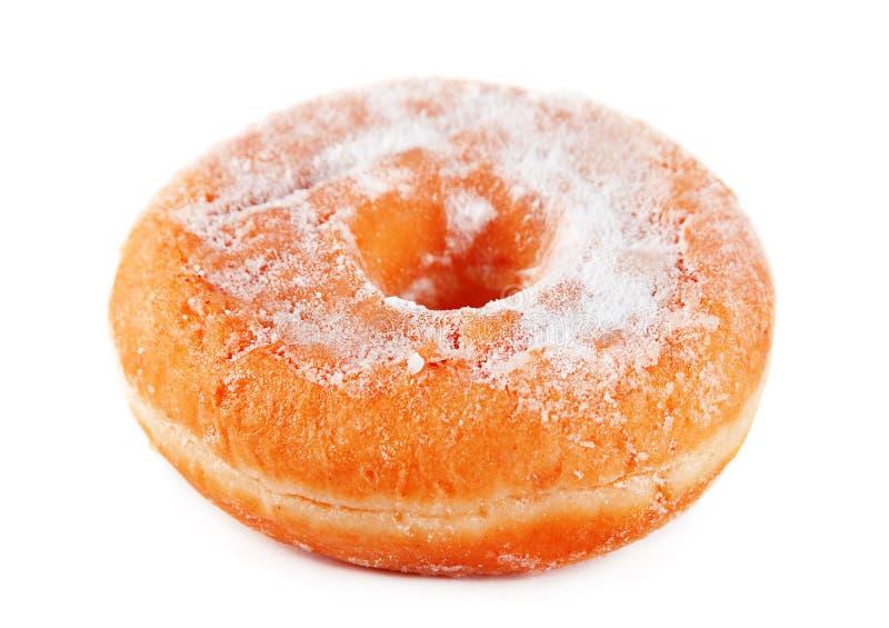 Сахар напудренный донутом стоковое изображение rf